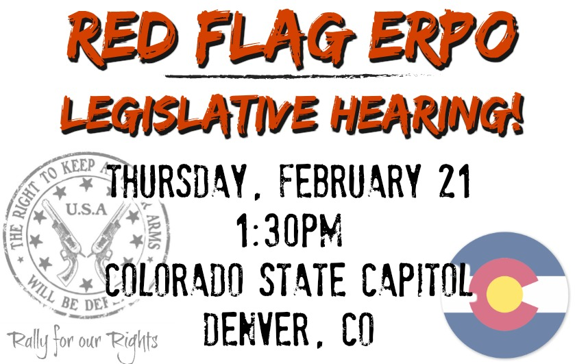 Red Flag Colorado ERPO Emergency Risk Protection Order Hearing Denver