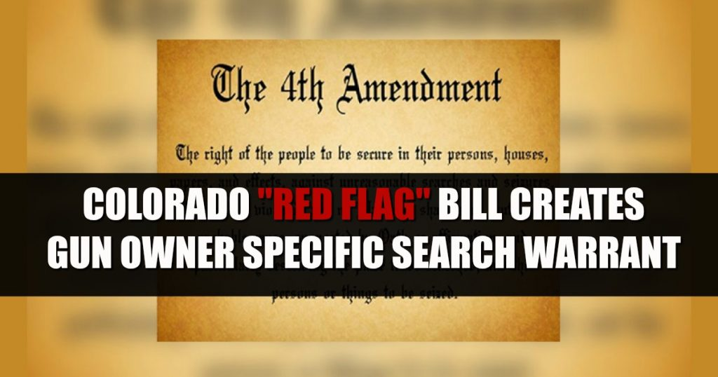 "Red Flag ERPO Bill Creates New ""CIVIL"" Search Warrant Specific To Colorado Gun Owners : Rally for our Rights"