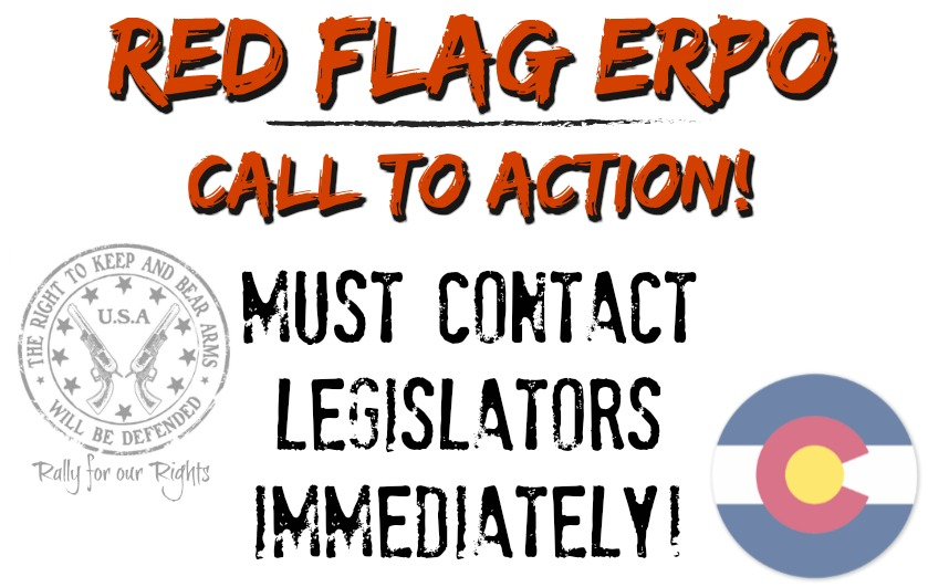 Red Flag ERPO Emergency Risk Protection Orders Colorado Rally for our Rights