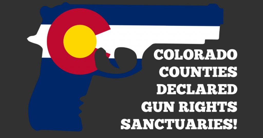 In Anticipation Of Red Flag Law, Colorado Counties Declared Gun