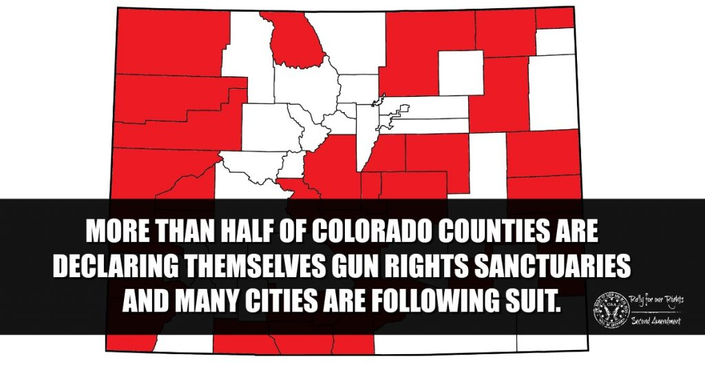 Colorado Counties Say WE WILL NOT COMPLY To Red Flag Law Should It Pass : Rally for our Rights