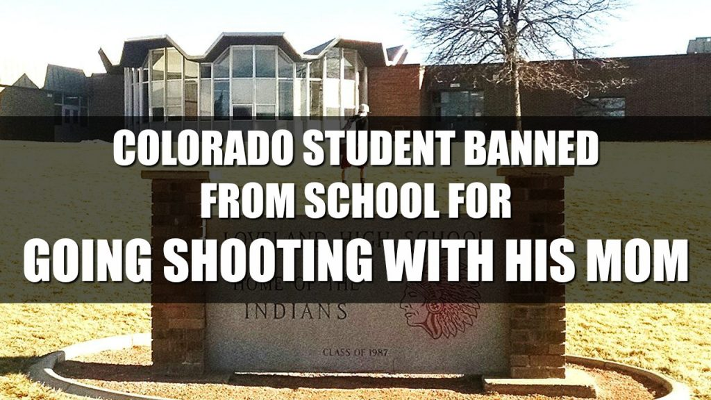 Colorado Student Removed From School Indefinitely For Going Shooting With His Mom