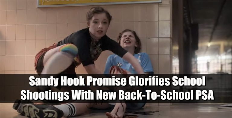Sandy Hook Promise Glorifies Mass Shooters With New Back-To-School PSA