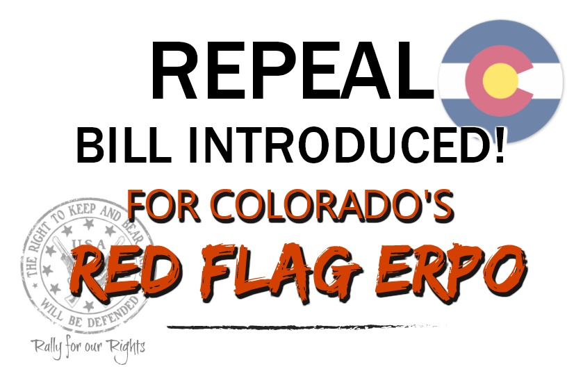 Bill Introduced To Repeal Colorado's Red Flag ERPO Law