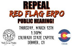 Repeal Red Flag ERPO Colorado HB20-1271